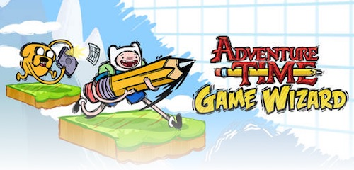Скриншот игры Adventure Time Game Wizard для Android.