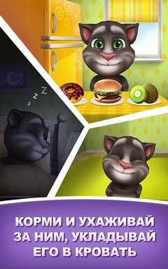 Gameplay ���� My Talking Tom. ��������� ��� ��������� ��� - ������� Android ���� ��� ��������