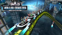 Симулятор американских горок - Roller Coaster Simulator Space на Android
