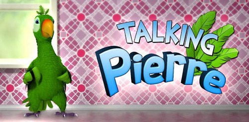 Скриншот игры Talking Pierre the Parrot для Android.