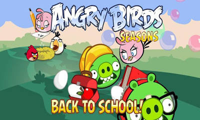 Angry Birds Seasons Back To School - ���� ����� ������: ����� � ����� ��� Android