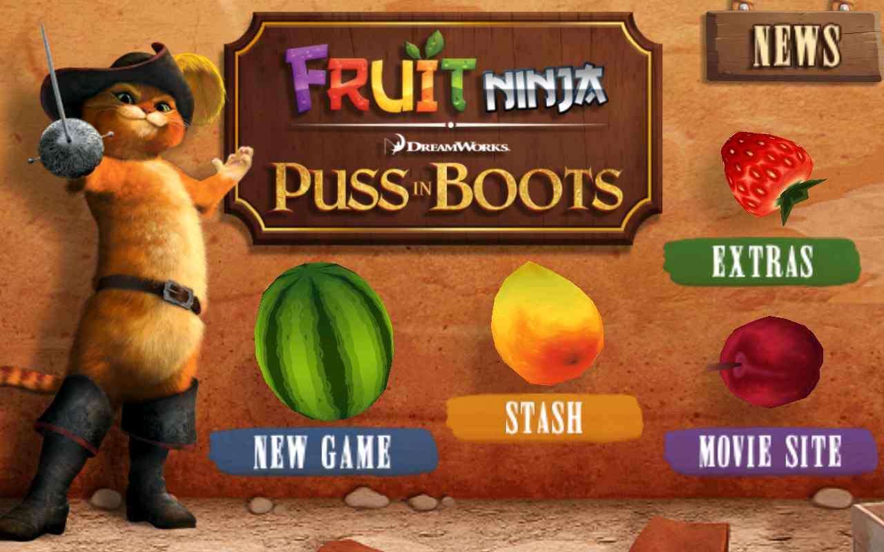 Fruit Ninja: Puss in Boots - ��������� ������: ��� � ������� ��� Android