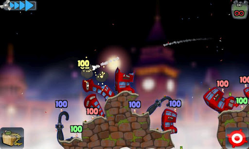 Gameplay ���� Worms. ��������� �������� - ������� Android ���� ��� ��������