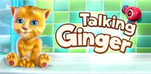 Talking Ginger - Говорящий рыжик на Android